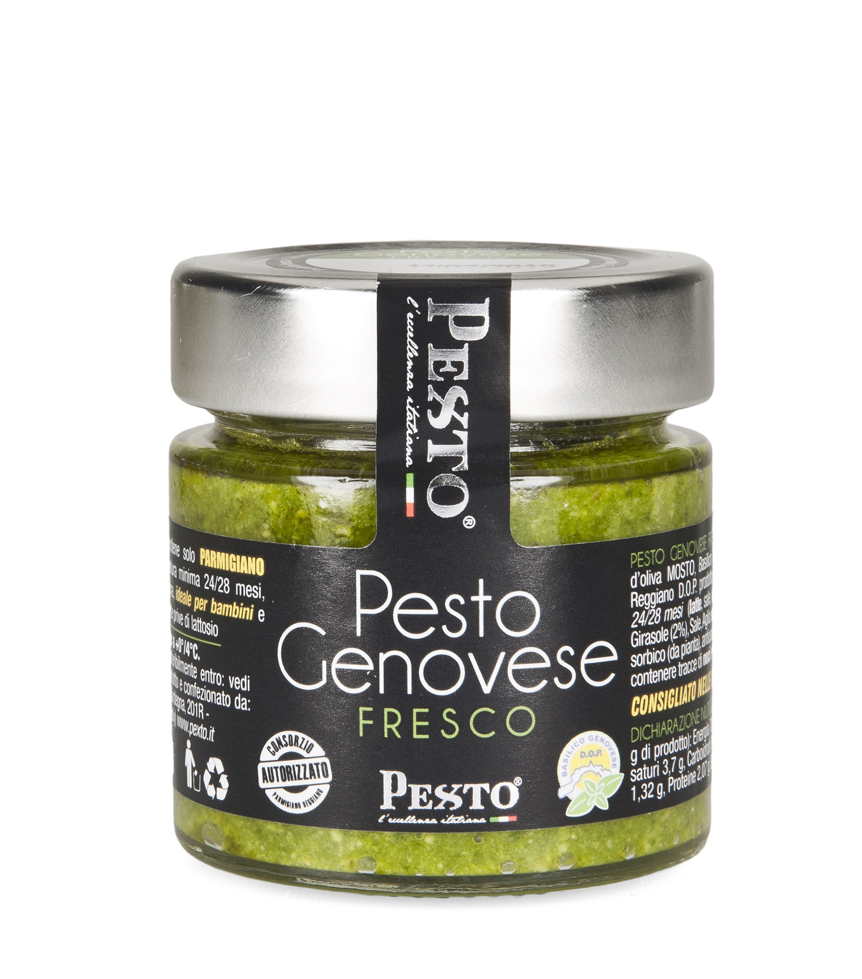 Pesto alla Genovese Fresco in vasetto da 90 gr