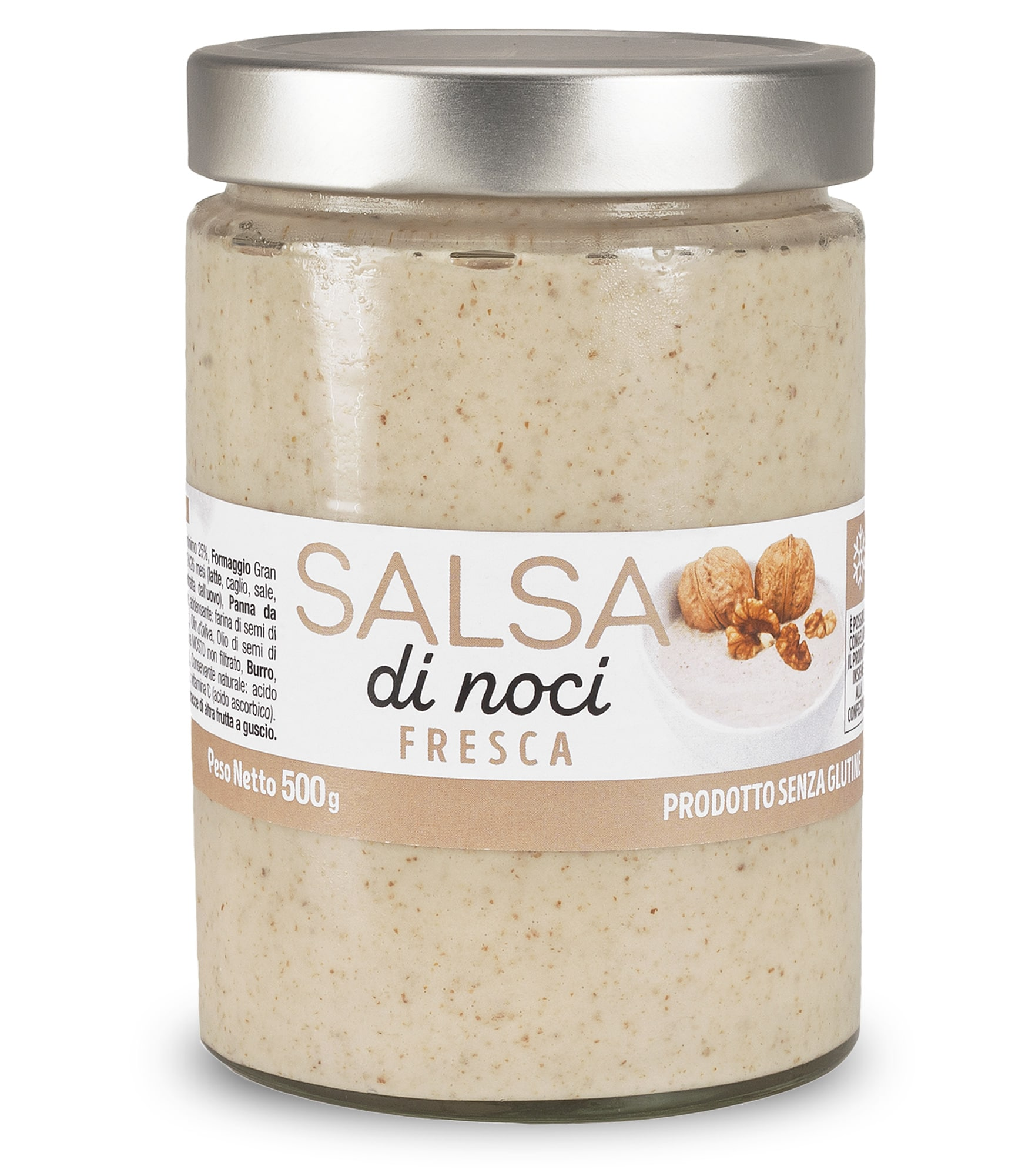 Pesto di Noci fresco in vaso da 500 gr