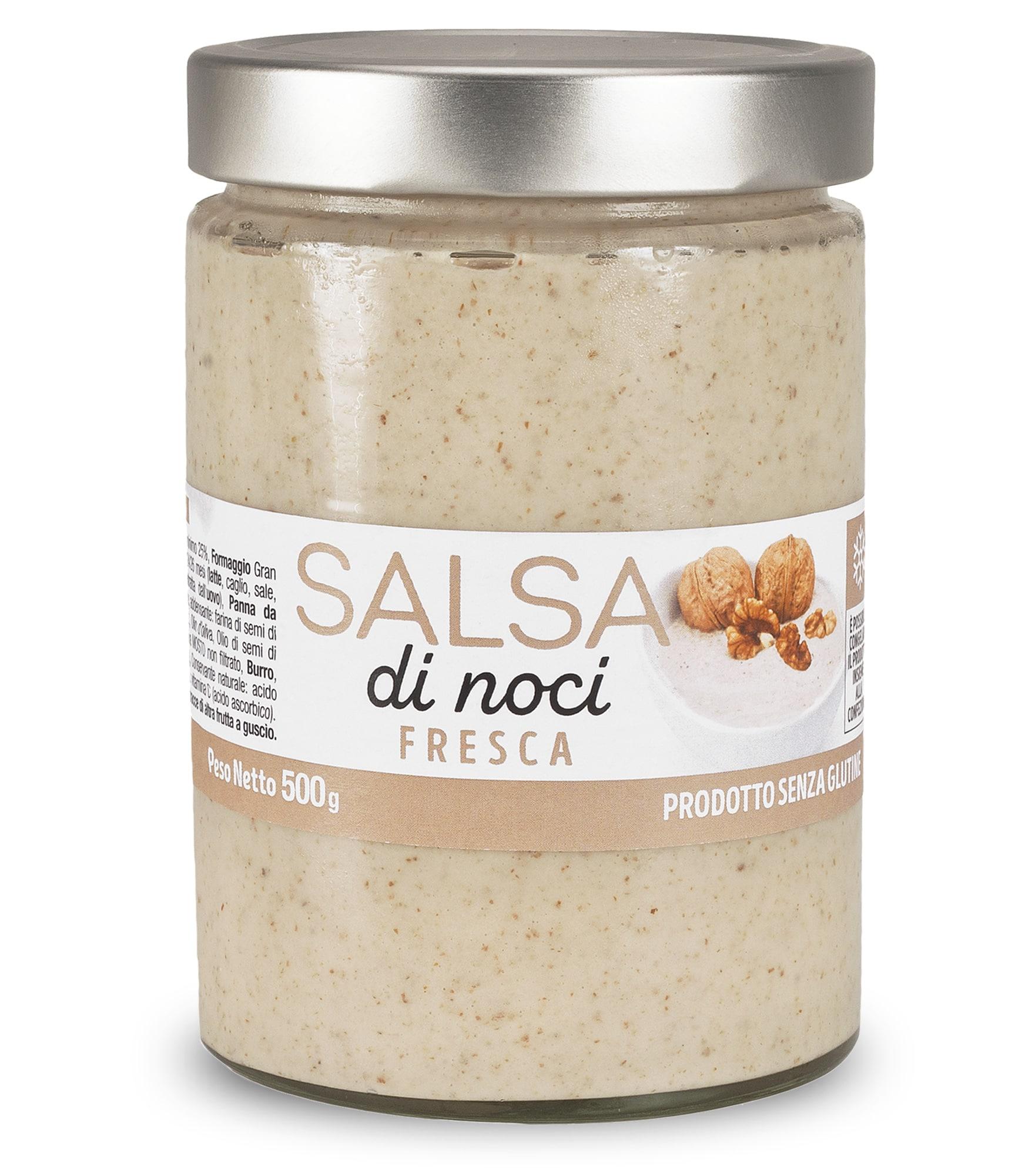 Pesto di Noci fresco in vaso da 500 gr