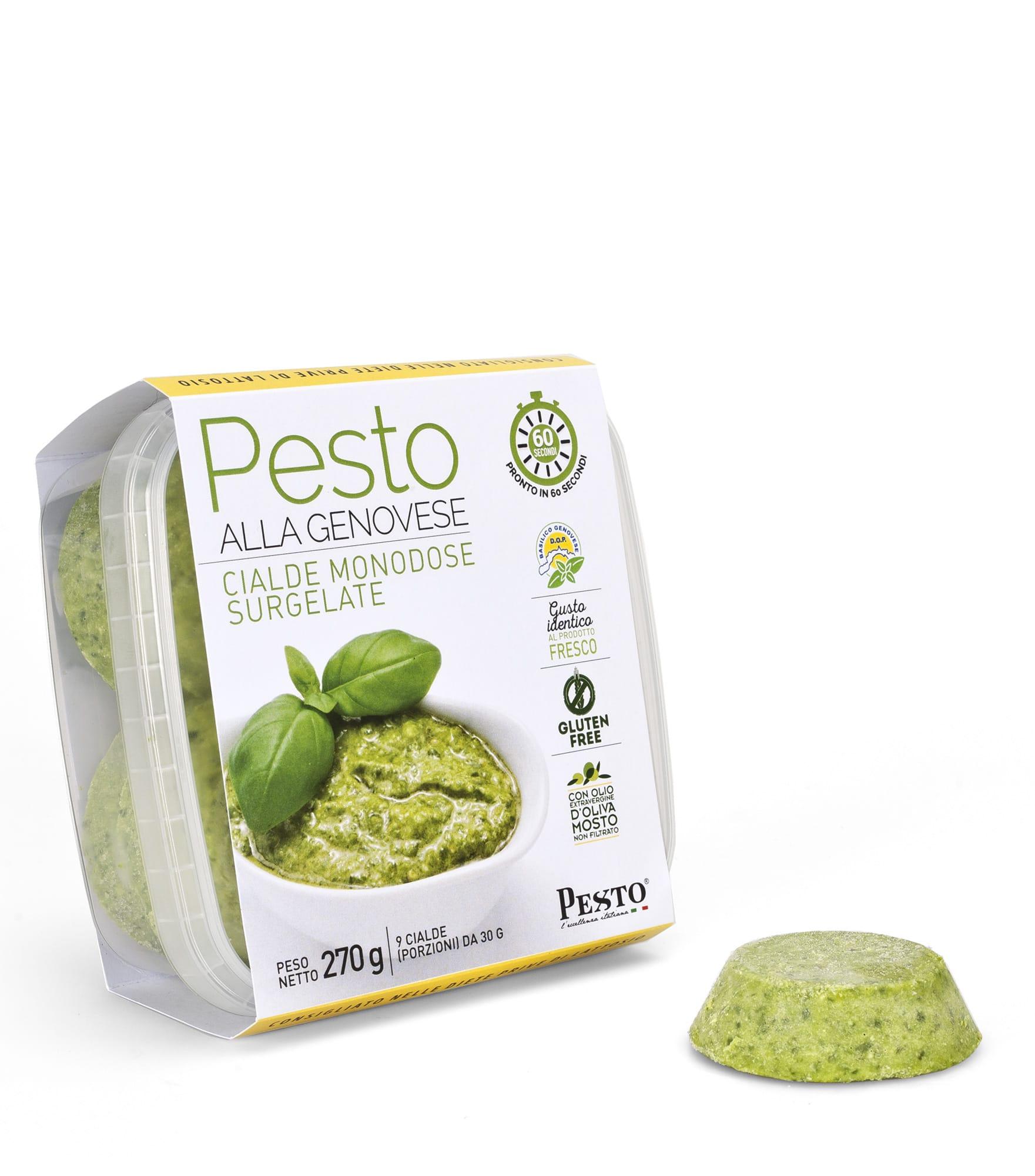Pesto alla genovese surgelato in Cialde 270 gr