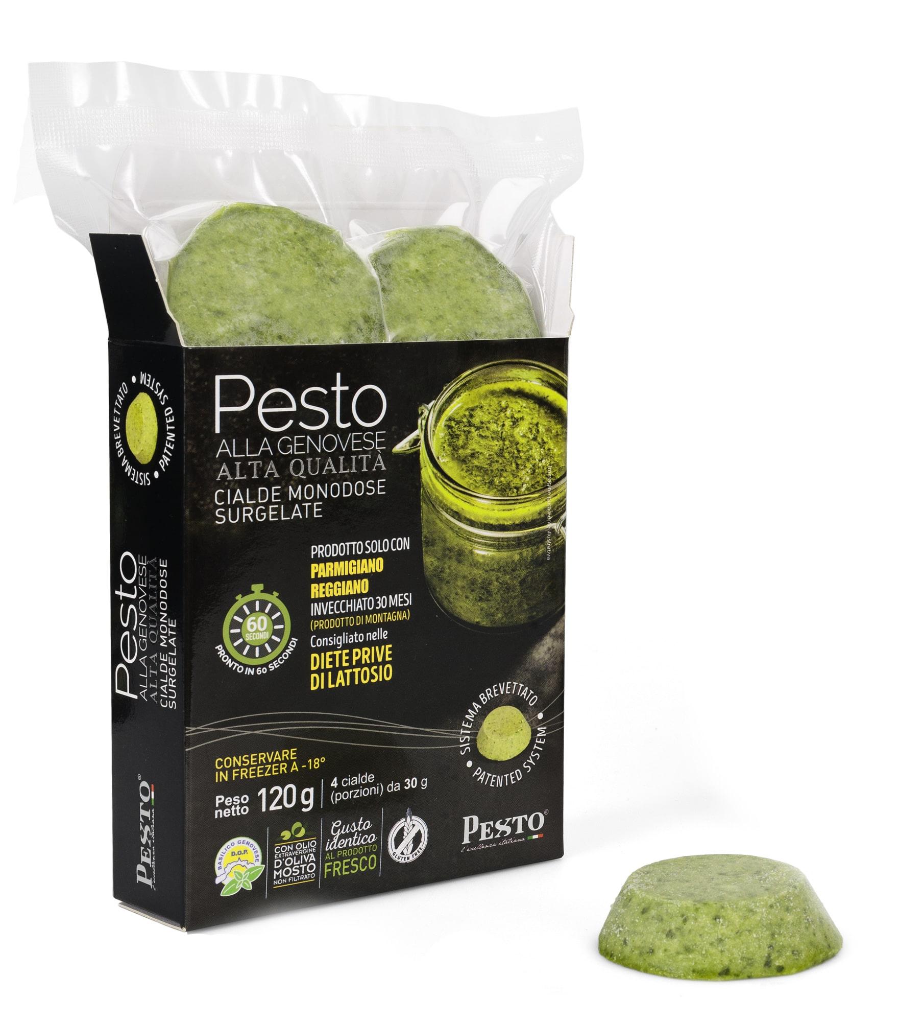 Pesto alla genovese Surgelato in Cialde monodose 120 gr