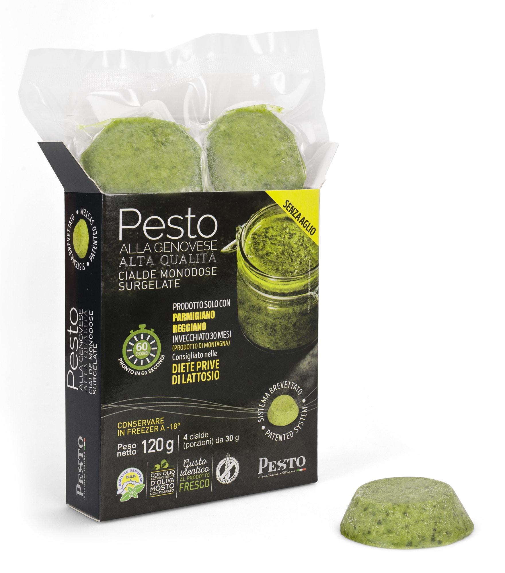 Pesto alla genovese Surgelato in Cialde senza aglio 120 g