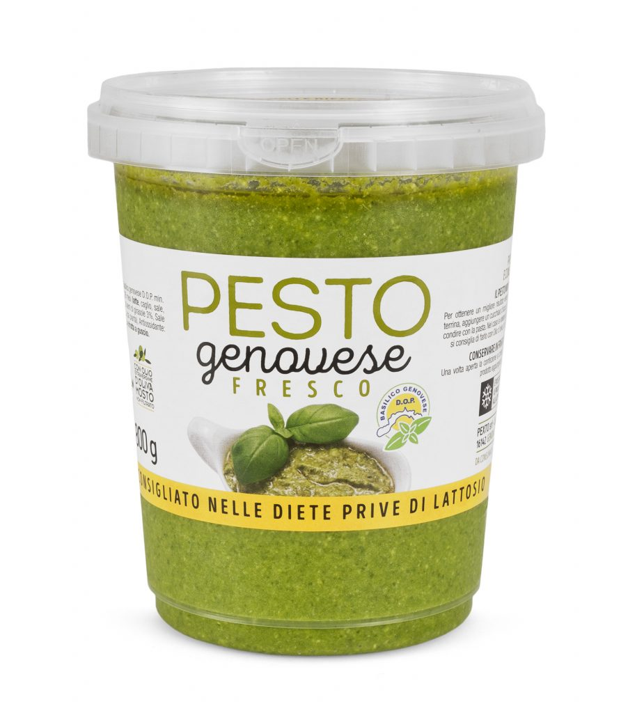 Pesto alla genovese fresco in PET da 800 gr