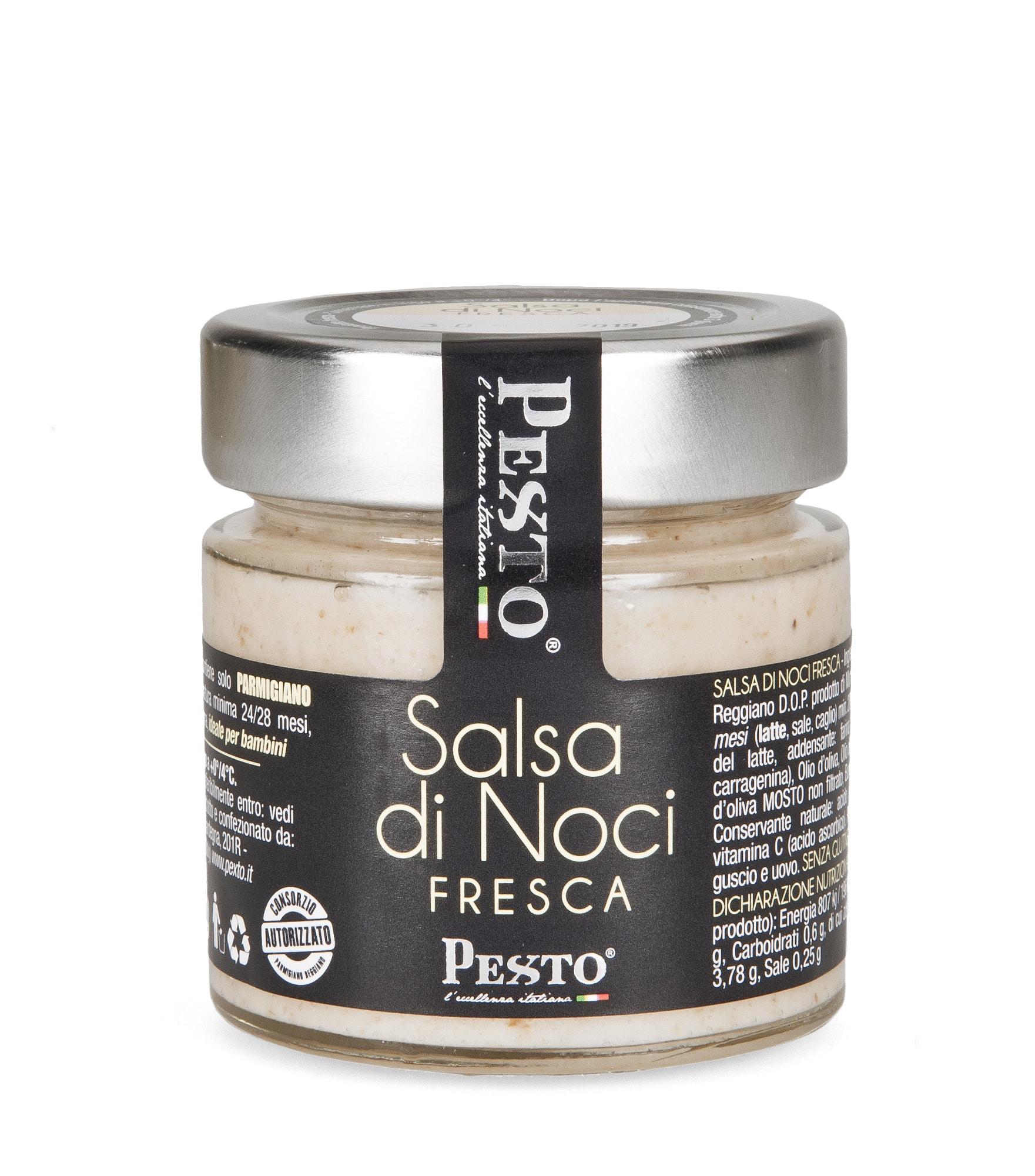 Pesto di Noci fresco in vasetto da 90 gr